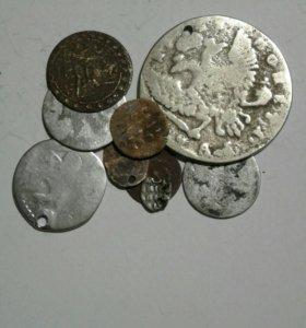 Монеты царские. Разных правителей.