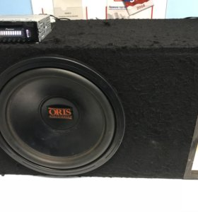 """Автомобильный Сабвуфер 15"""" Oris Electronics AMW-15"""