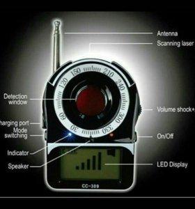 Прибор для поиска скрытых камер и микрофонов