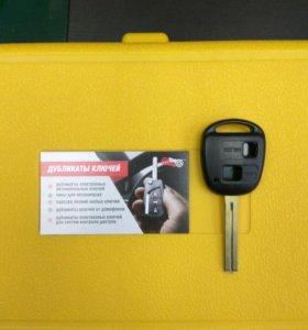 Ключ TOYOTA 2-кнопки