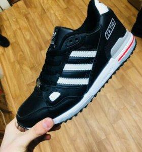 Мужские кроссовки Adidas Натуральная кожа