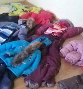 Зимний комплект на 116 мальчик kerry