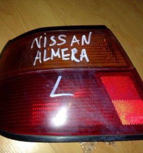 Фонарь Nissan almera левый