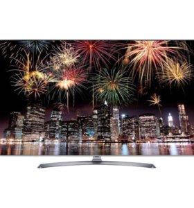 "Огромный Телевизор LG 65UJ750V 65""(165см) 4k WiFi"