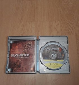 Диск с UNCHARTED 2 AMONG THIEVES