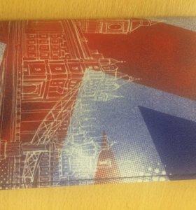 Обложка на паспорт в британском стиле