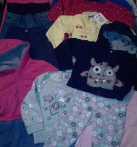 Пакет импортной одежды 13 предметов на годик