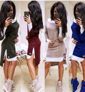 Новое платье, двойка 44 размер!!!