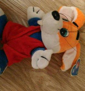 Новая игрушка, мышь- спортсмен