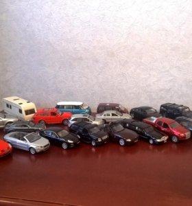 Коллекционные сувенирные машинки