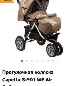 Практически новая прогулочная коляска