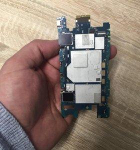 Плата на Sony z3 compact