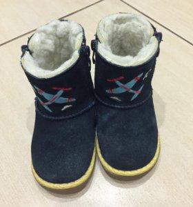 Зимние ботинки размер 24