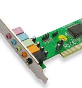 Звуковая карта PCI-Ex1 C-Media 8738-LX 5.1 ОЕМ