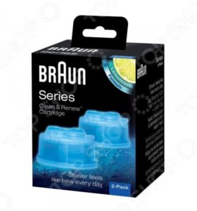 Картридж для электробритв с чистящей жидкостью Bra
