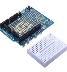 Плата расширения arduino с макетной платой