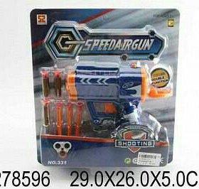 Пистолет с мягкими пулями, бл. 331 Цена: 250
