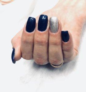 Маникюр .Наращивание ногтей