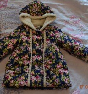 Куртка весенняя на девочку размер 26