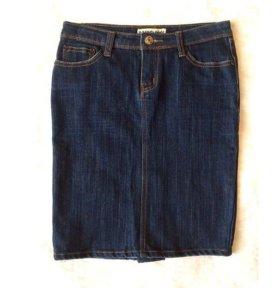 Юбка. Ткань джинсовая.