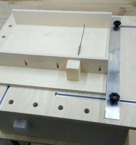 Для установки циркулярки фрезера лобзика