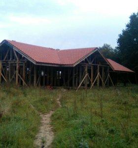 Строим каркасные дома.