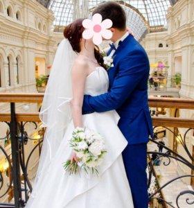 Свадебное платье ОСЕНЬ-ВЕСНА (Bizar Atelier)