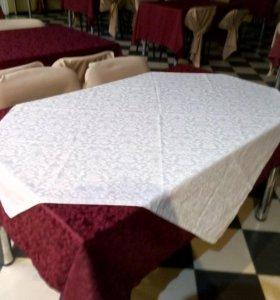 скатерти и накидки на стулья