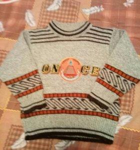 свитерок на 3-5лет
