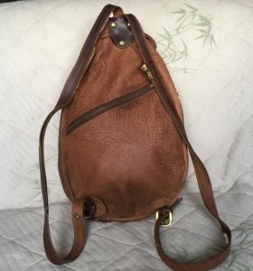 Сумка-рюкзак из кожи кенгуру