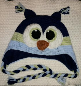 Детская шапка-сова