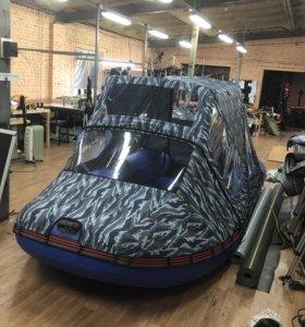 Тенты для надувных лодок пвх