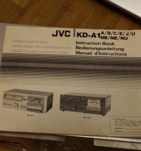Кассетный магнитофон JVC