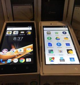 Смартфон Senseit A109 LTE новый