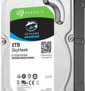 Жесткий диск Seagate SkyHawk 2тб