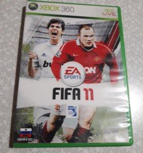 Игры на Xbox Диски на xbox FIFA 2011 Xbox 360