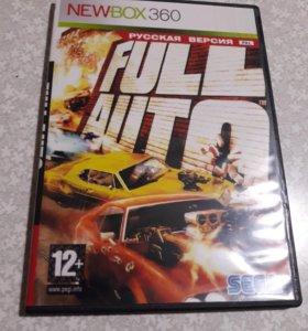 Диски на Xbox игры на xbox Full Auto Xbox 360