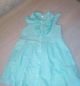 Стильное платье-рубашка, б/у