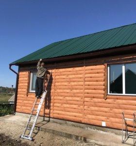 Строим дома, бани,пристройки, фундаменты и заборы