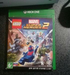 Игра для xbox one. Lego marvel super heroes 2