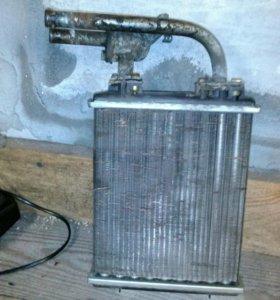 Радиатор на печку 2107
