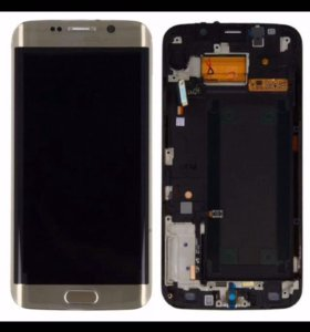 Экран (модуль) Samsung s6 edge gold