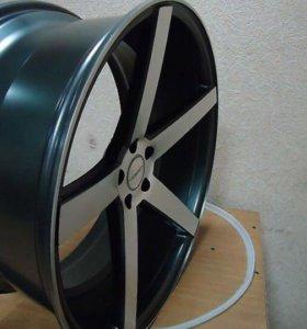 Реплика Vossen CV3R на резине Nankang Ultra Sport