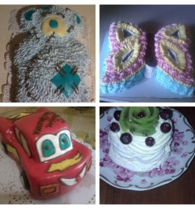 Тортики и сладкая выпечка