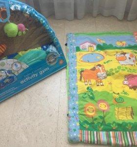 Детские развивающие коврики! Два шт.