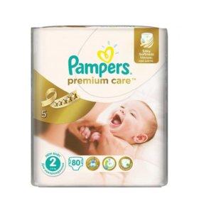 Pampers Подгузники Premium Care