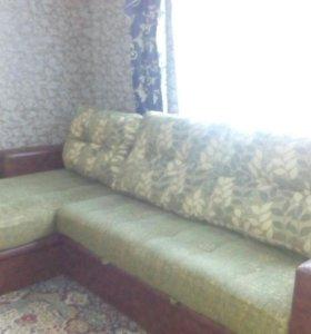 Угловой диван + кресла