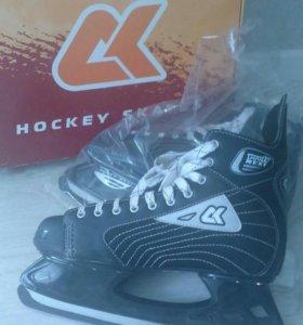 Коньки хоккейные, размер 47