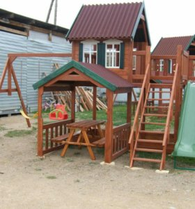 Детский игровой комплекс 1. горка, песочница,