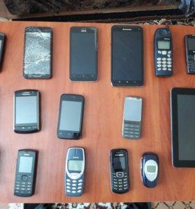 Смартфоны телефоны на запчасти